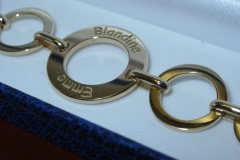 bracelet identité original